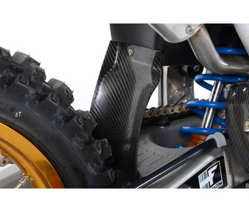 Extreme Carbon REAR MUD FLAP GUARD FLEXIBLE Carbon MX/E...