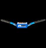 Neken handlebar OS Bar 133C  blue/white bar pad   (like 999 Renthal -  low bend)