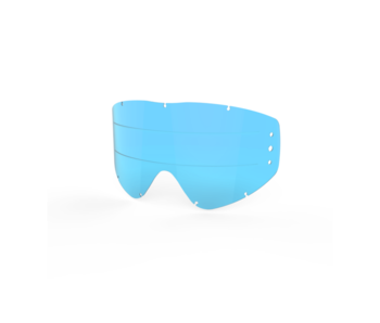 EKS Brand GOX - LENS BLUE Tint Zip OFF