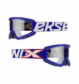 EKS Brand GOX  Over the glass Blue  frame/ Clear lens