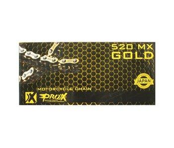 ProX Racing MX Rollerchain Gold 520 x 120 L