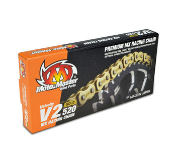 Motomaster Chain V2-520G (120 links, with clip)