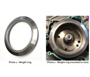 Flywheel weight 250/300 2019->  Carb & Fi model