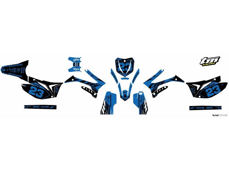 "Graphic kit ""Diamond 6 duo colours"""
