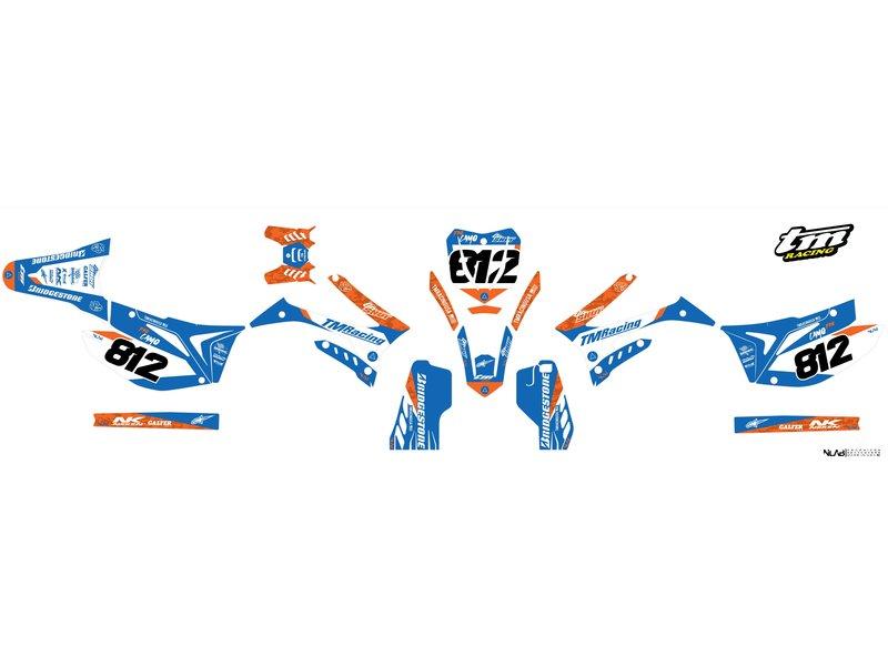 "Graphic kit ""ProCamo Orange 5"""