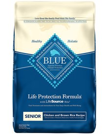 Blue Senior Chicken & Rice 6lb