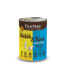 First Mate Dog Chicken & Tuna 12.2 oz