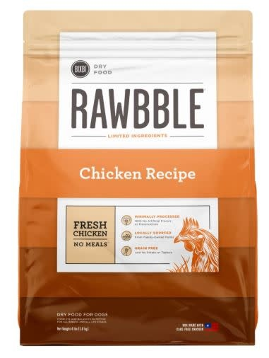 Bixbi Bixbi Rawbble Chicken 4 lb