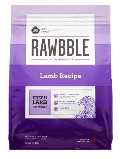 Bixbi Bixbi Rawbble Lamb 4 lb