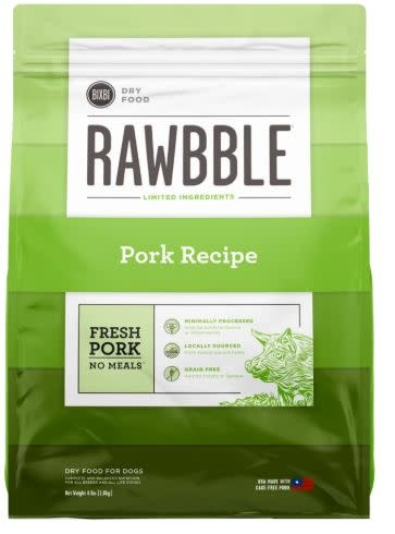 Bixbi Bixbi Rawbble Pork 4 lb