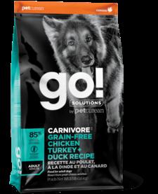 Go! Carnivore Chk, Turkey & Duck 22 lb