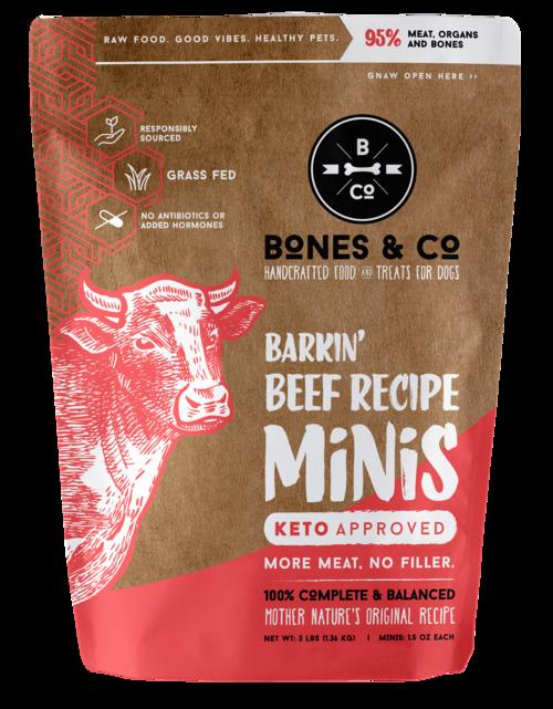 Bones & Co Bones & Co. Raw Beef Minis 3lb
