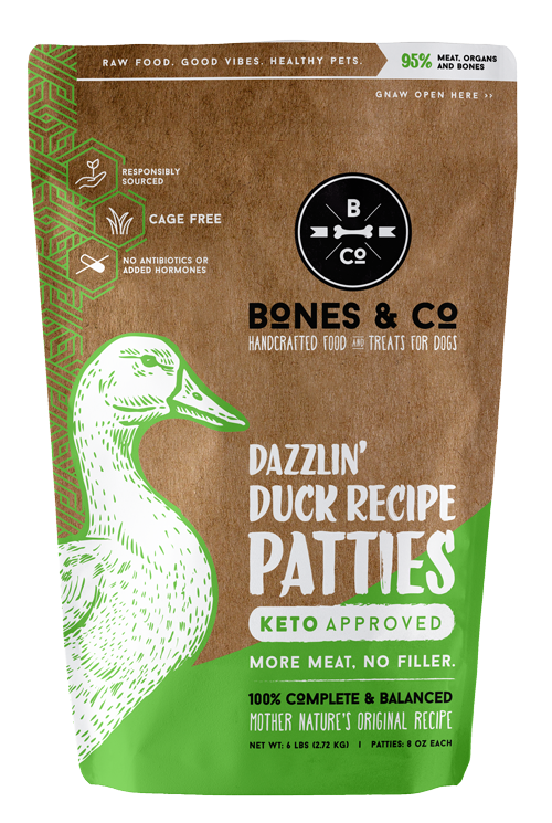 Bones & Co Bones & Co Raw Duck Patties 6 lb