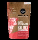 Bones & Co Bones & Co. Raw Beef Patties 6lb