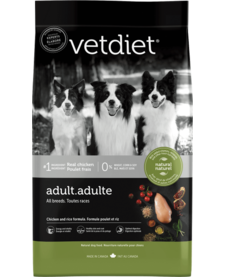 VetDiet Adult Chicken & Rice 15 lb