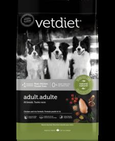VetDiet Adult Chicken & Rice 30 lb