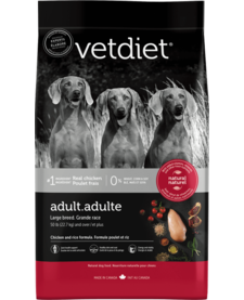 VetDiet Large Breed Adult 30 lb