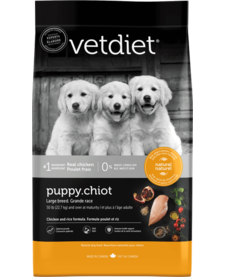 VetDiet Large Breed Puppy 30 lb
