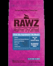 Rawz Cat Salmon, Ckn, Whtfsh 1.75lb