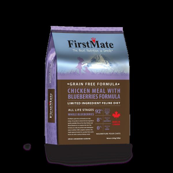 FirstMate First Mate Cat GF Chk Blueberry 4 lb