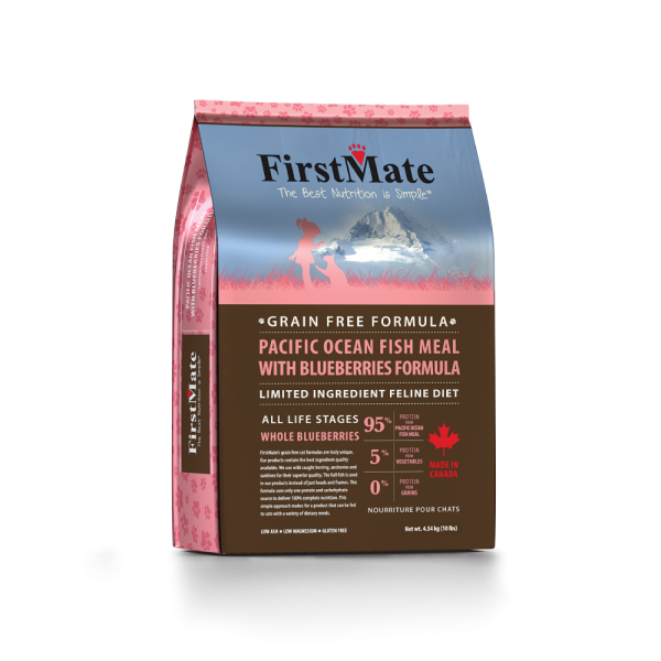 FirstMate First Mate Cat GF Fish Blueberry 4 lb