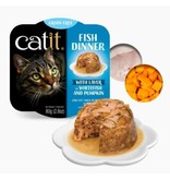 Catit Catit Fish DInner Whitefish & Pumpkin 2.8 oz