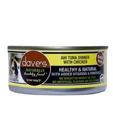 Dave's Cat Ahi Tuna & Chicken 5.5 oz