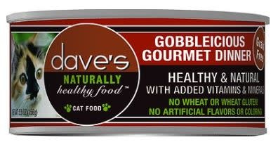 Dave's Dave's Cat Gobbleicious 5.5 oz