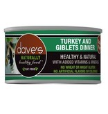 Dave's Dave's Cat Turkey & Giblet 3 oz