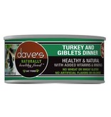 Dave's Dave's Cat Turkey & Giblet 5.5oz