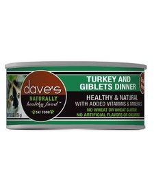 Dave's Cat Turkey & Giblet 5.5oz