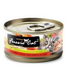 Fussie Cat Tuna & Chicken Liver 2.8 oz