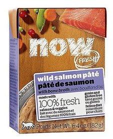 Now Cat GF Wild Salmon Pate 6.4 oz