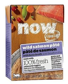 Now Cat GF Wild Salmon Pate 6.4 oz Case