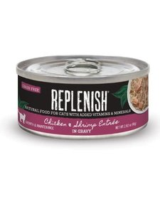 Replenish Cat GF Chicken & Shrimp 2.8 oz