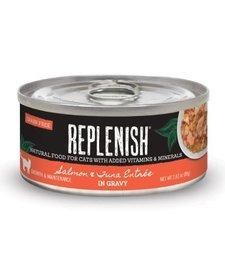 Replenish Cat GF Salmon & Tuna 2.8 oz Case