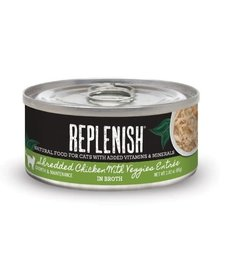 Replenish Cat Shredded Chicken & Veggies 2.8 oz
