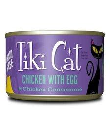 Tiki Cat Chicken with Egg 6oz