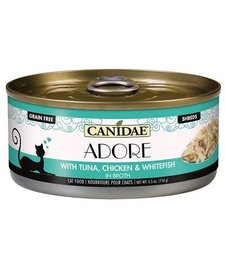 Canidae Adore Tuna, Chicken & Whitefish 5.5 oz Case