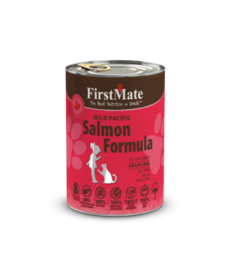 First Mate Cat Salmon 12.2 oz Case