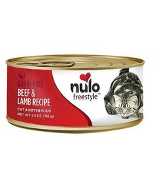 Nulo Freestyle Cat Beef/Lamb 5.5 oz Case