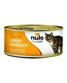 Nulo Freestyle Cat Chk & Herring 5.5oz