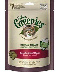 Feline Greenies Beef 2.5oz DISC