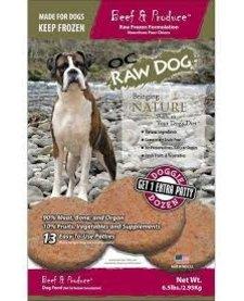 OC Raw Patties Beef 6.5 lb