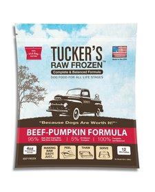 Tucker's Raw Frozen Beef & Pumpkin 3 lb