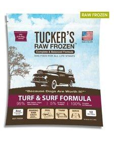 Tucker's Raw Frozen Turf & Surf 3 lb