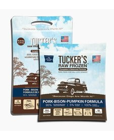 Tucker's Raw Frozen Pork, Bison & Pumpkin 6 lb