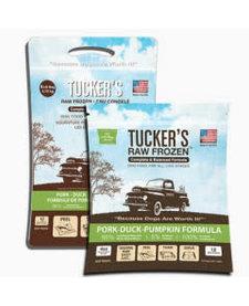 Tucker's Raw Frozen Pork, Duck & Pumpkin 6 lb