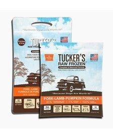 Tucker's Raw Frozen Pork, Lamb & Pumpkin 6 lb