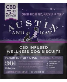 Austin and Kat CBD Treats 5 mg